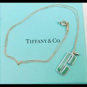 Turquoise Blue Clinique C Tiffany & Co Necklace